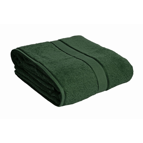 100% Cotton Forest Green Bath Sheet