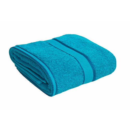 100% Cotton Bright Aqua Bath Towel
