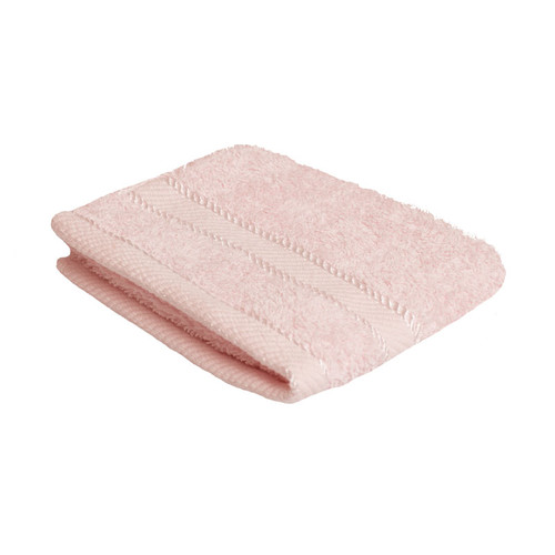 100% Cotton Baby Pink Face Washer