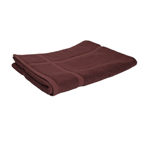 100% Cotton Chocolate Brown Bath Mat