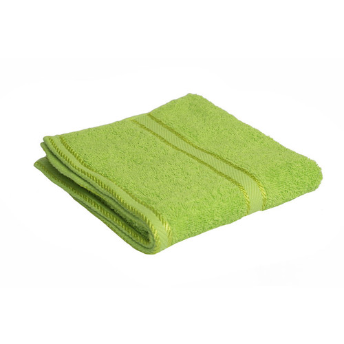 100% Cotton Bright Lime Green Hand Towel