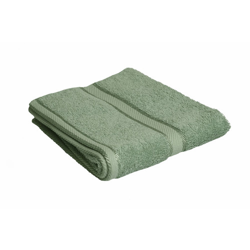 100% Cotton Frost Green Hand Towel