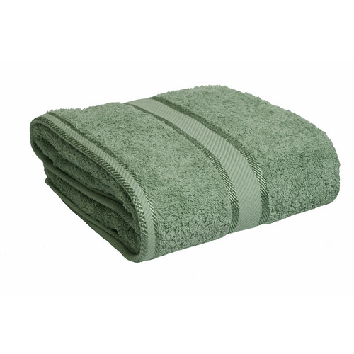 100% Cotton Frost Green Bath Towel