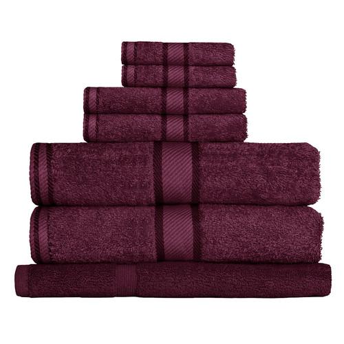 100% Cotton Shiraz 7pc Bath Towel Set