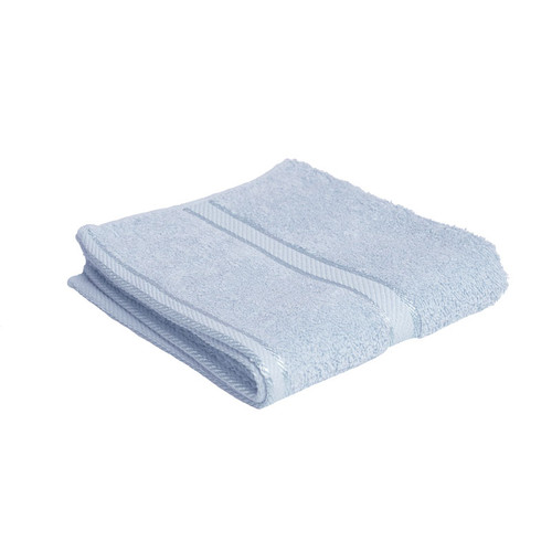 100% Cotton Baby Blue Hand Towel
