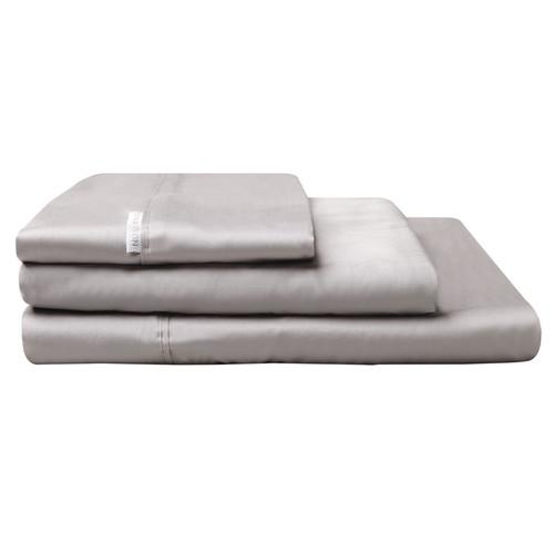 Logan and Mason Pewter Grey Sheet Set | My Linen