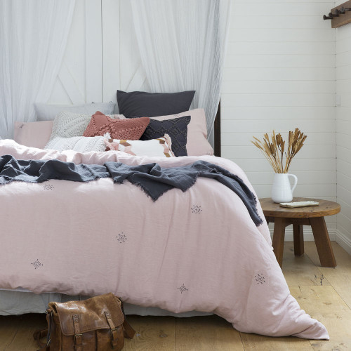 Bambury Ana Single Bed Quilt Cover Set   My Linen