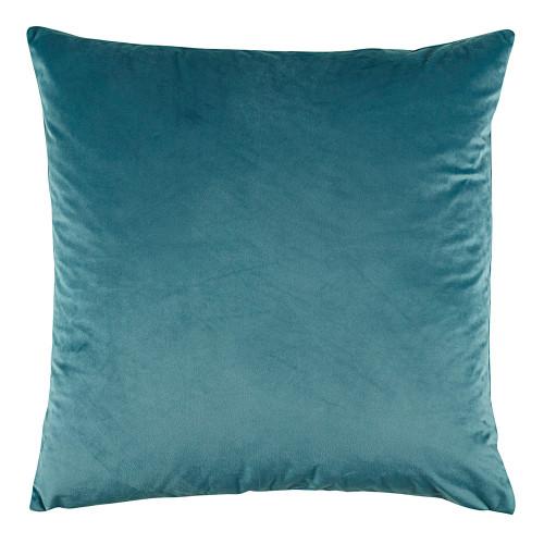 Bianca Vivid Teal Velvet European Pillowcase | My Linen