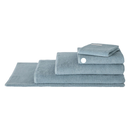 Sheridan 100% Combed Cotton Twist Towel Collection Hand Towel Misty Teal | My Linen