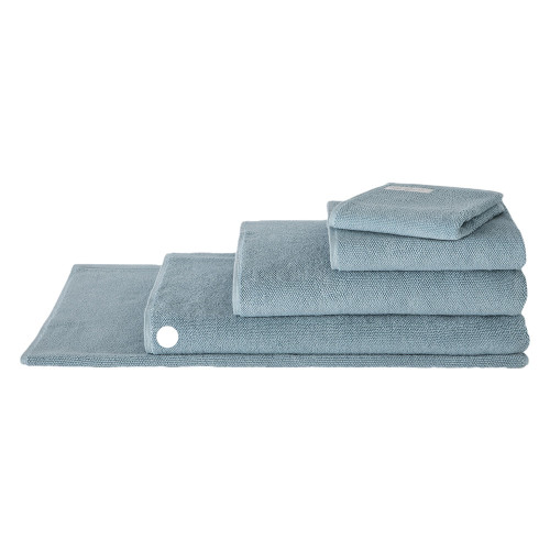 Sheridan 100% Combed Cotton Twist Towel Collection Bath Sheet Misty Teal | My Linen