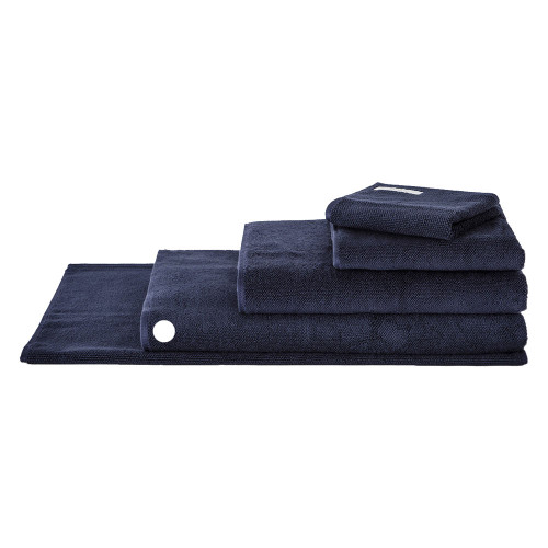 Sheridan 100% Combed Cotton Twist Towel Collection Bath Sheet Midnight   My Linen