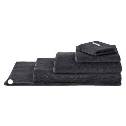 Sheridan 100% Combed Cotton Twist Towel Collection Bath Mat Graphite   My Linen