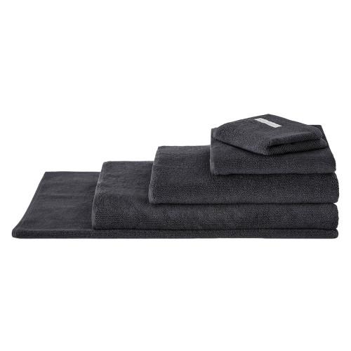 Sheridan 100% Combed Cotton Twist Towel Collection 7pc Bath Sheet Set Graphite | My Linen