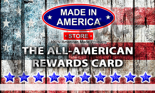 The All American Rewards Card (Front)