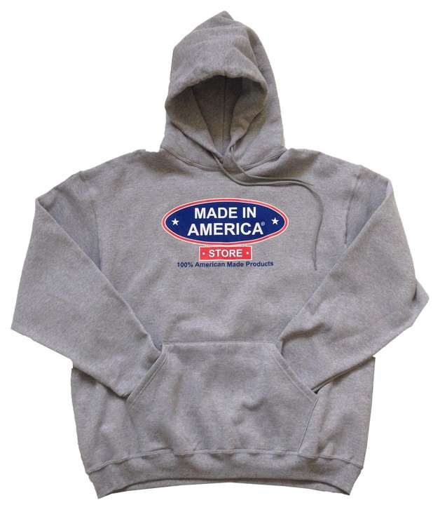 Made In America Store Hoodie (Grey)