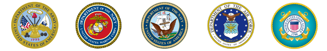United States of America Military Emblems