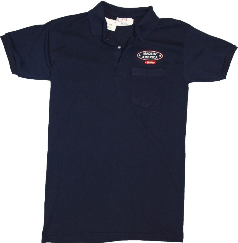 Made In America Store Pocket Polo (Navy)