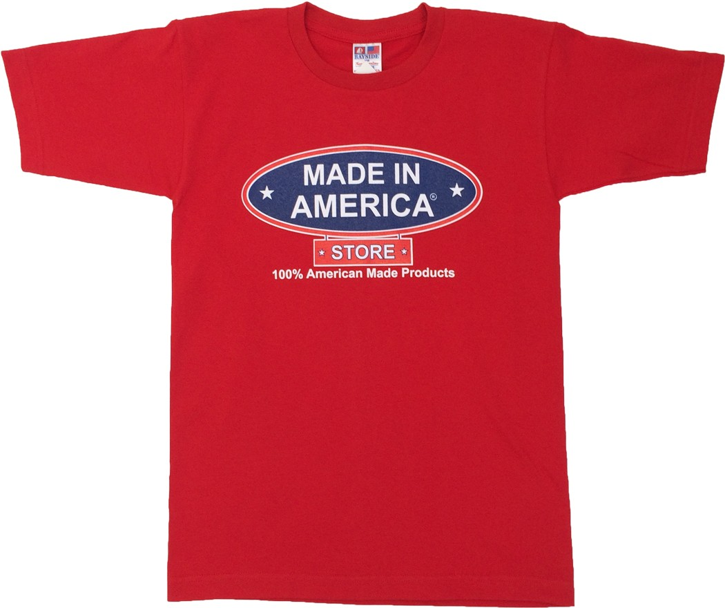 Made In America Store Tee (Red)