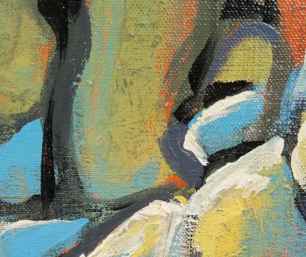 Pebbles - Acrylic on Canvas