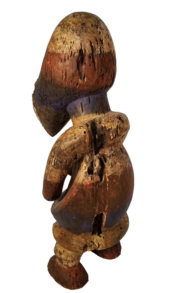 African Carved Fang Figure back left