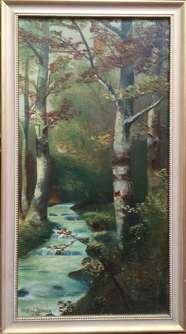 Autumn Trees - Signed Oil on Canvas
