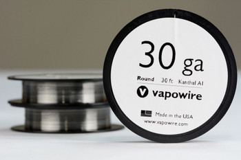 Kanthal A1 Round Wire - 30AWG