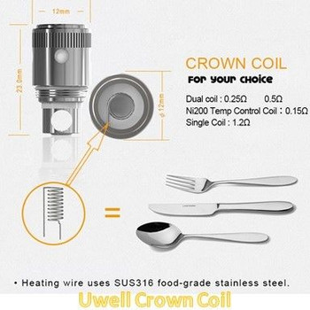 Uwell Crown Coils 4pk