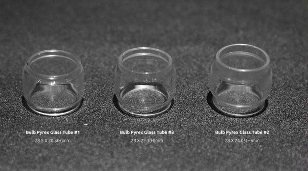 Smoktech Bulb Pyrex Glass Tube #1 (1pc) Big Baby Tank