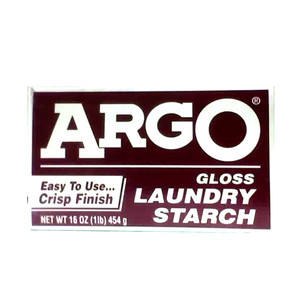 ARGO GLOSS LAUNDRY STARCH 1LB BOX