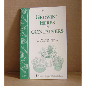 GROW HERBS IN CONTAINERS