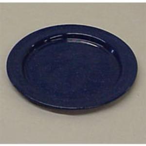 """BLUE ENAMEL 10"""" DINNER PLATE"""