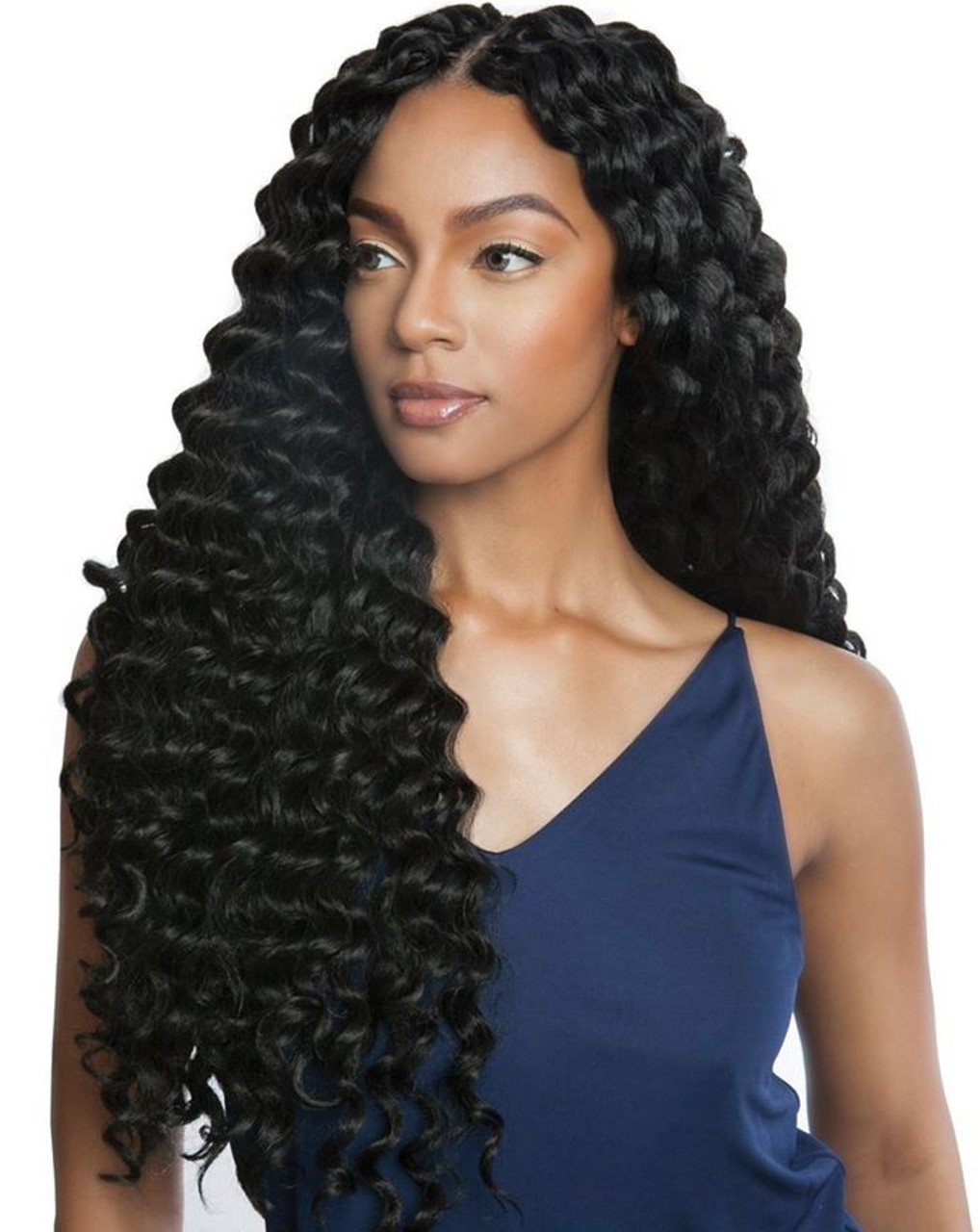 Wavy Crochet Braids Perfect Protective Braided Hairstyles