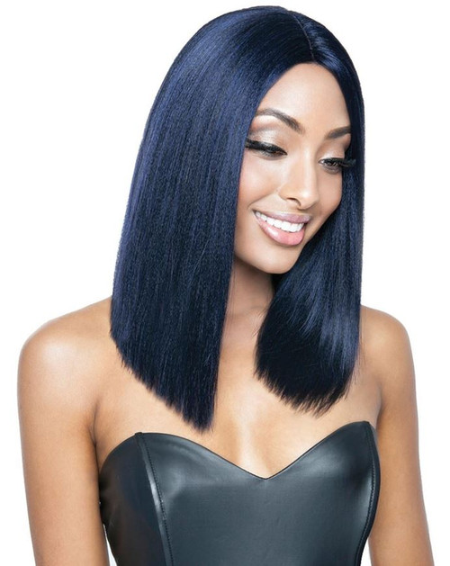 Red Carpet Blunt Cut Bob Synthetic Lace Front Wig Skai Luxe Beauty