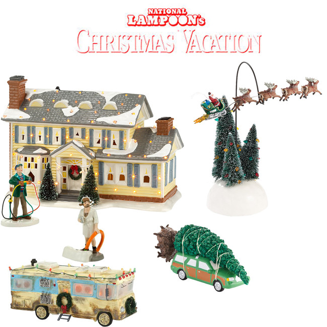Department 56 National Lampoon's Christmas Vacation 6pc Set