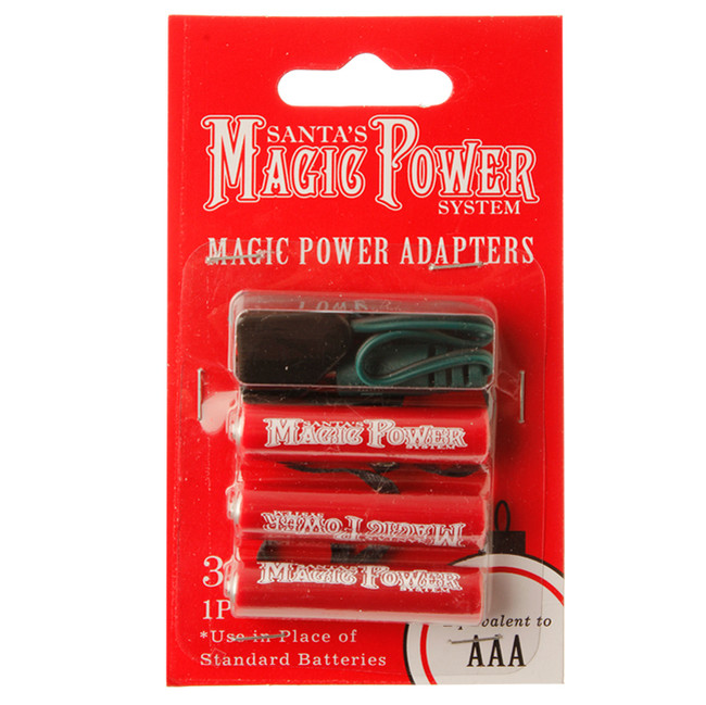 Raz Magic Power System 3-AAA Adapters 3416167