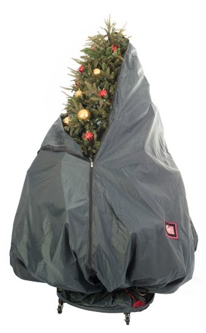 Tree Keeper 9' Pro Decorated Christmas Tree Storage Bag with Rolling Stand TK-10104