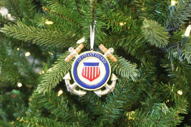 Coast Guard Personalized Christmas Ornament