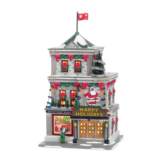 Department 56 A Christmas Story Village The Department Store Building 805027