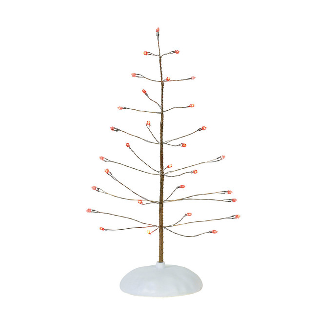 Department 56 Village Accessory Red Twinkle Brite Tree 6001731