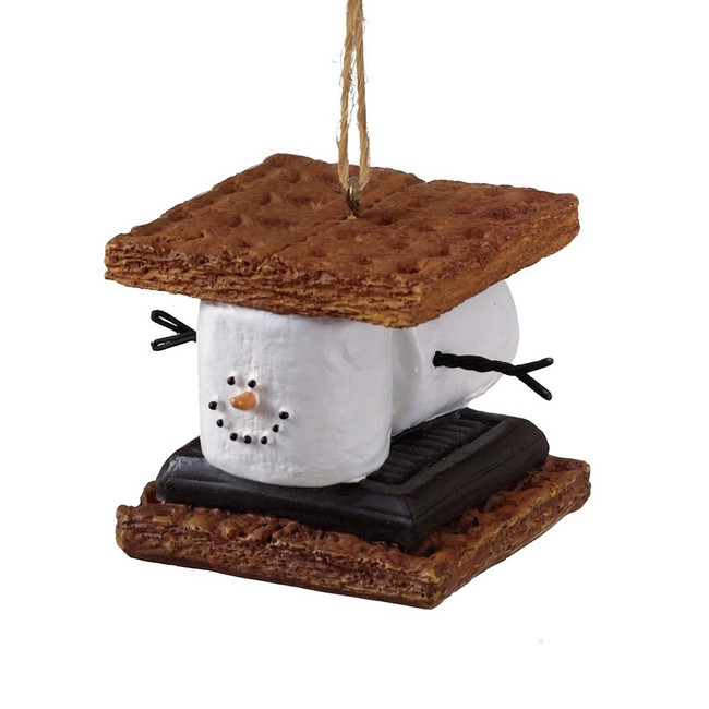 "2"" S'mores Sandwich Christmas Ornament 040386"