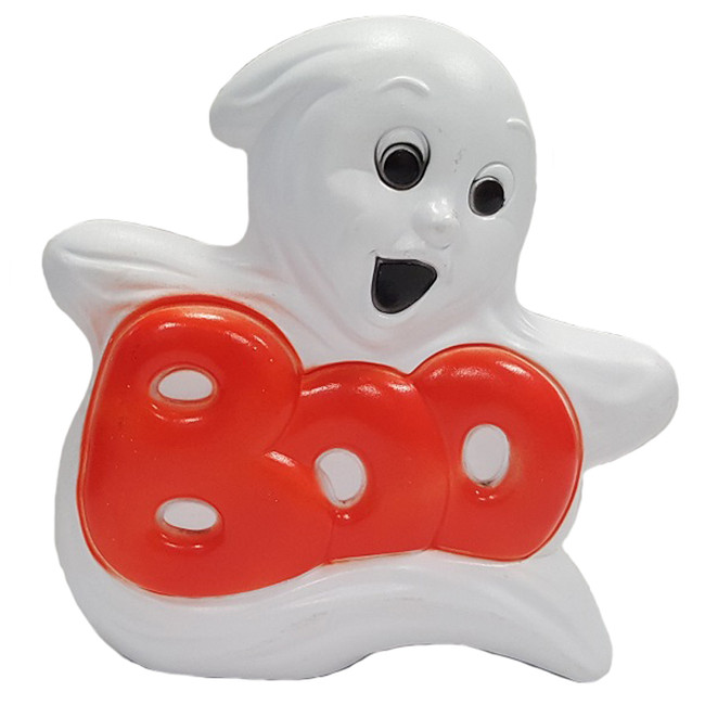 "14"" BOO Ghost Halloween Blow Mold 56470"