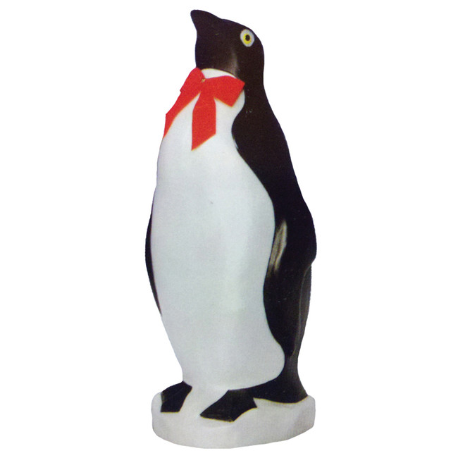 "22"" Penguin with Bow Tie Blow Mold Outdoor Christmas Decor 76820"