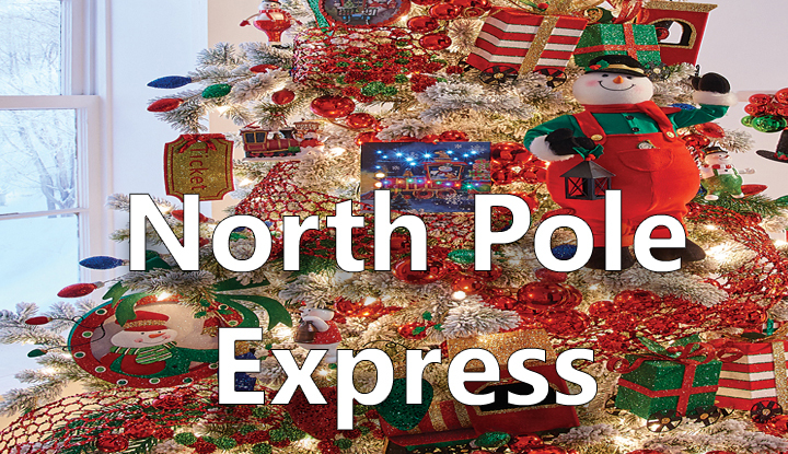 north pole express - North Pole Christmas Decorations