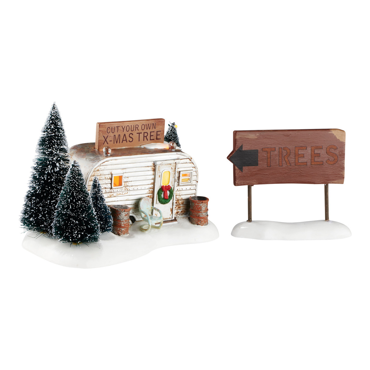 department 56 snow village christmas vacation the griswold family buys a tree 4054985 - Christmas Vacation Tree