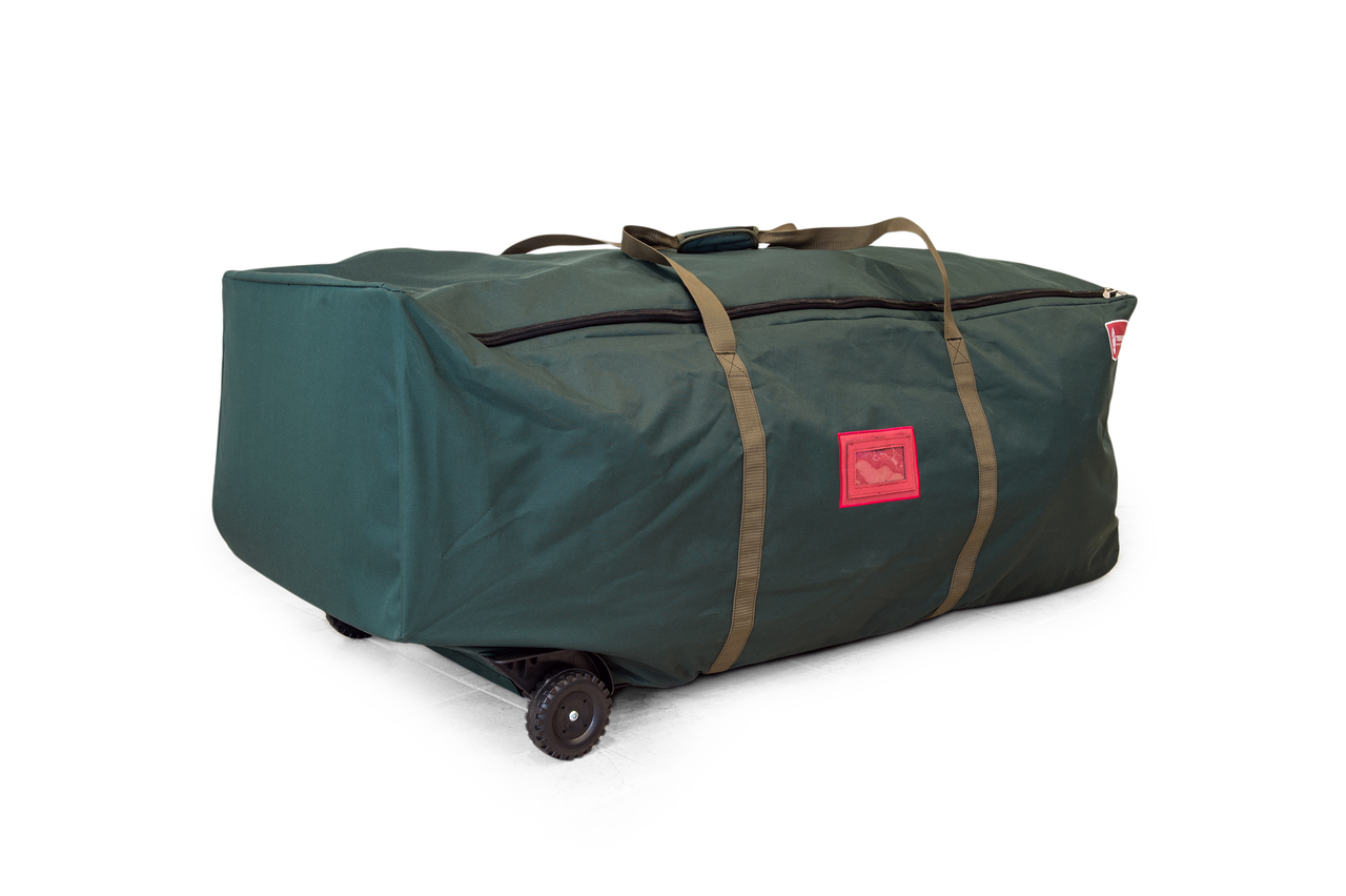 Tree Keeper Big Wheel No Drag Super Duffel 6 9 Ft Christmas Tree Storage Bag