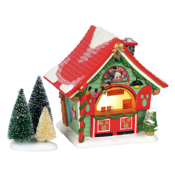 Department 56 Disney Christmas Village Mickey's Tree Lot Building | Department 56 | Department ...