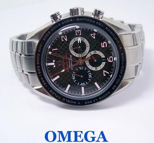 OMEGA SPEEDMASTER CO-AXIL Chronograph MICHAEL SHUMACHER Watch Ref 32130445001001