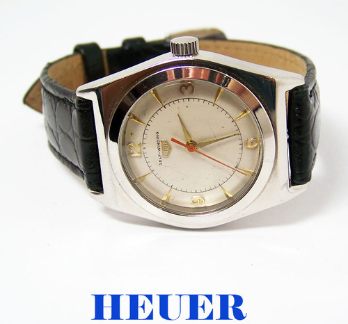 Vintage HEUER Mens Automatic Watch Cal F690 c.1960s* EXLNT* SERVICED* RARE