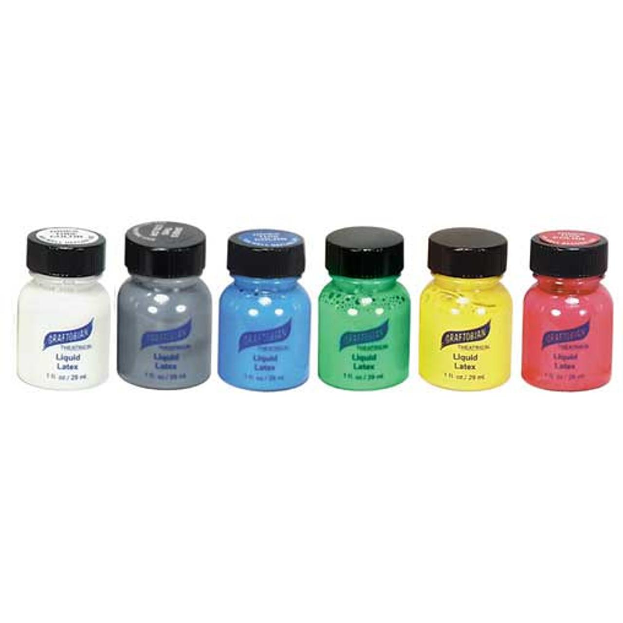 Graftobian Colored Liquid Latex, 1 oz | Professional Effects Makeup ...