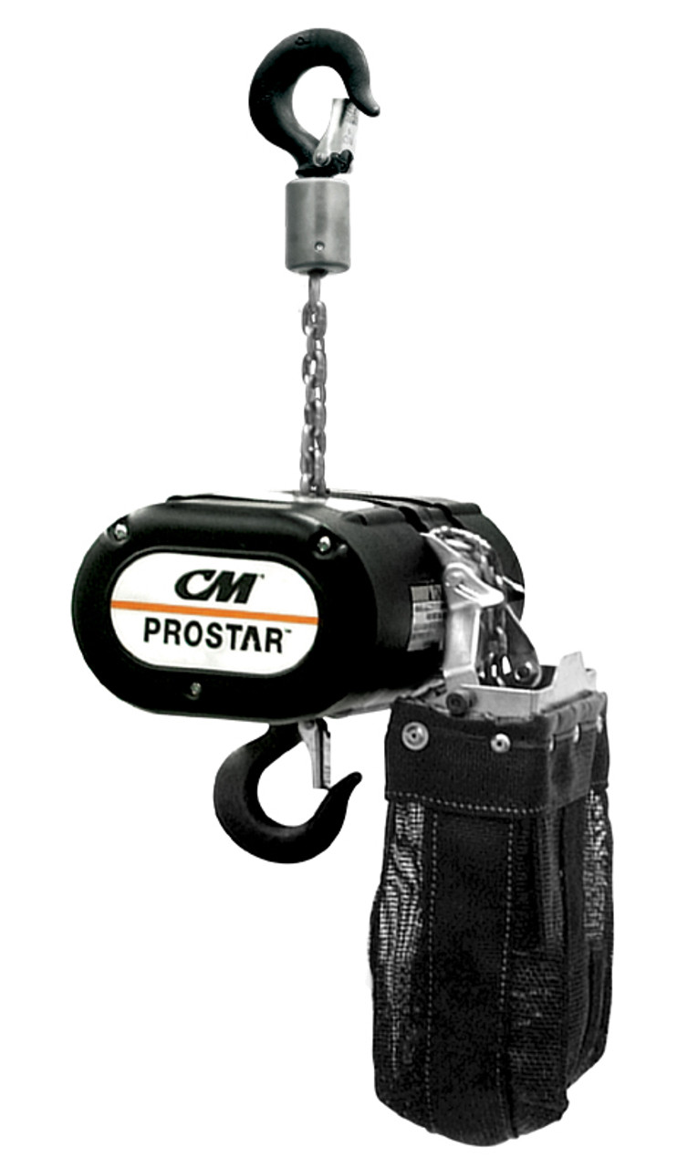 cm prostar 1 4 ton electric chain motor hoist single